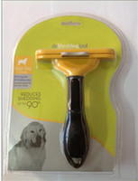 Wholesale New Dog cleaning Grooming hair Shedding Tool pet comb brush Pet brush Dog brush Cat Brush inch