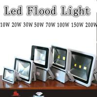 Wholesale Waterproof LED Floodlight Landscape Flood Lights Wall Wash Light W W W W W W W W Outdoor Floodlight Warm White White IP65