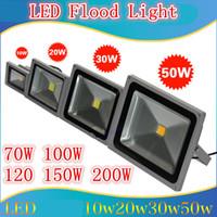 Wholesale New Outdoor LED Floodlight W W W W W W W W Floodlight Waterproof Landscape Flood Lights Wall Wash Light Warm White IP65