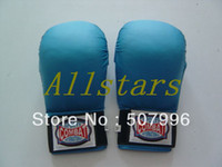 Wholesale High quality Fist Karate Taekwondo Gloves sandbag gloves blue red D