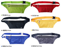 Wholesale 500pcs Travel Handy Hiking Sport Fanny Pack Running Bum Bag aist Belt Zip Pouch New