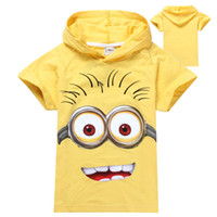 New 2014 boys and girls Despicable Me 2 minion short t- shirt...