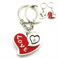 Wholesale High Quality Keychain Couple Key Chain Rudder Anchor Keychains for Wedding gift