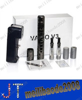Cheap NEW vamo v3 full kit ecigarette Variable Voltage Stainless Provari VV Mod vamo v3 ecig Lava tube Vamo V3 full set electronic cigarette MYY99