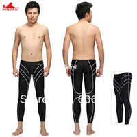 Men Bikinis Patchwork Yingfa water proof,chlorine resistant racing mens long swim pant speedo mens swimwear men's swimwear swimming trunks
