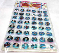 button badge - New Cartoon Movie Frozen circular children Badge Button Pin cm