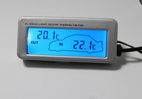 Wholesale Car in out thermometer T18