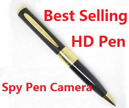 Wholesale Best Selling avi HD Spy pen Camera hidden Pen DVR Micro SD Card Hidden camera from coolcity2012