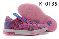 Low Cut Unisex  Men s Sports Shoes Kevin Durant s Aunt Pearl Honored with New KD 6 Colorway Basketball Shoes Men s Athletics Training Boots Women s Sneakers