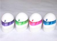Wholesale Colourful Mini USB Humidifier Air Purifier Air Freshener Mist maker fogger maker Aroma Diffuser gift For Home Room Car