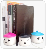 Wholesale Carton Mini USB Humidifier Air Purifier Air Freshener Mist maker fogger maker Aroma Diffuser gift For Home Room Car
