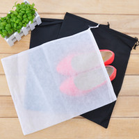 Wholesale new Non woven shoes travel storage bag drawstring tote shoe single Shoes Covers