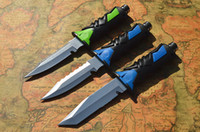 Wholesale OEM USA Diver s knife C Balde HRC Scuba diving for water sports cutting tools Outdoor gear knife knives