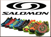 Wholesale 2014 Hot New Men s Salomon Speedcross Athletic Running Sports Man Shoes Outdoor US Solomon Trail Racing
