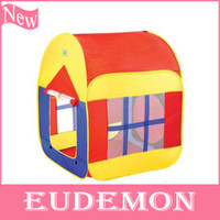 Cheap Free Shipping Children's tent baby play tent kids play house large model tent children's toys gifts