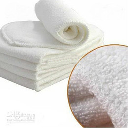 Wholesale Hot Fashion hot sale Layers Super Absorbent Bamboo Cloth Diaper Inserts Diaper Liners