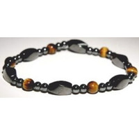 Wholesale SALE Men Women Tiger s Eye Energy Magnetic Bracelet Pain Relief Small Beads