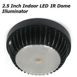 Wholesale 2 Inch Indoor nm LED Light Duai Array IR Dome Illuminator