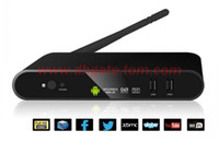 Wholesale DVB T2 network television set top boxes Google android player Android4 android network player