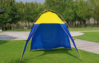 Wholesale Hot Sales Camping Tents Fashion Outdoor Beach Tent Family Tent Four Person Living Room Camping Tent