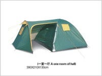 Wholesale 2 Room Outdoor Family Camping Tents Multi User Team Travel Tent Living Bed Room Casual Travelling Tent Sport Hiking Camp Tents Mountain Shel
