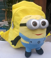 photo color b backpack - Despicable Me Baby Backpack Bags New Fashion Cute Children Plush Minions Animals Toy School Bags B