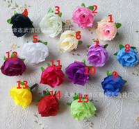 Wholesale Artificial flowers flowers roses simulation simulation simulation flower bud small handmade DIY