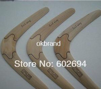 Wholesale 2014 NEW High quality Handmade wood Frisbee UFO Boomerang flying saucer Flying Disc