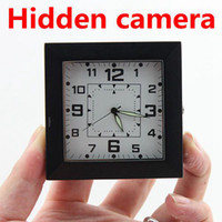 None   Hidden camera HD 1280X960 Spy DVR Camera Sound Control Detecting Video Recorder Alarm Clock Free Shipping