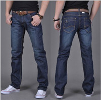 Wholesale New Arrival Fashion Men s Jeans Casual Classic Straight Jeans Men Slim Fit Denim Trousers Plus Size