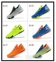 Wholesale Best Mens Basketball Shoes Comfortable Tenis Kevin Durant VI KD Mens Basketball Shoes Athletic Kd6 Sneakers Size KD Men Sports Shoes
