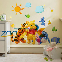 other winnie the pooh - Winnie the Pooh and friends wall stickers for kids rooms ZooYoo2006 decorative wall decor removable pvc wall decal