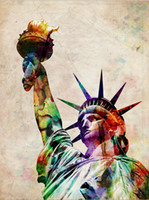 Wholesale canvas wall art Statue of Liberty giclee Oil Painting Mary Stretched Canvas Print Canvas Art