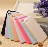 Wholesale DHL cute candy color plain blank white Case For Iphone s s kpop DIY prestigio bling Cell Phone material Case
