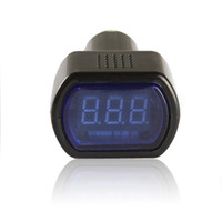 Wholesale Mini LED Digital Auto Car Battery Voltmeter Electric Vehicle Voltage Tester Volt Meter Gauge Monitor V V