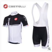 Wholesale Castelli Cycling Jersey Bib Shorts Man Clothing Sets Bicicleta Mountain Bike Clothing Set sportif outdoor fun amp sports wear Types S XL