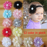 Wholesale DIY Children s Hair Accessorie Baby Headband Hairband Baby Girls Flowers Headbands Kids Hair Accessories Baby Christmas Gift