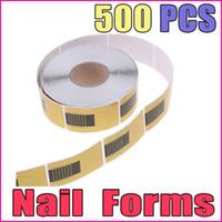 Cheap Nail Art 3D Decoration form light Best Nail Art Rhinestones 500PCS form aluminum