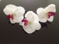 Wholesale New Fashion Orchid Flower Hair Clip Bridal Wedding Hawaii Party Girl Hairpin