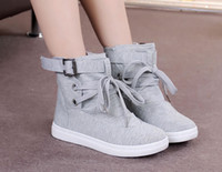 Black Gray High- top Sandals Canvas Shoes 2014 Spring Summer ...