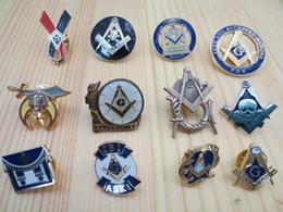 Wholesale of Masonic Lapel Pins Badge Mason Freemason B4