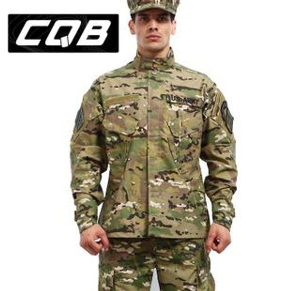 Cqb camuflaje militar trajes de combate uniforme de camuflaje conjunto de ropa del ejército ropa de
