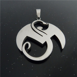 Large Strange music charms Stainless Steel Pendant & Necklace Men jewelry