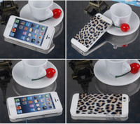 For Apple iPhone ABS+PC White NEW hot Motomo Hard Case Back Cover For iPhone 4 4S 5 5S Leopard Tiger Zebra Print Design With beautiful retail packaging DHL FREE