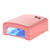 Cheap Nail Manicure Machine Tool 818 36W light therapy lamp light therapy light therapy machine UV lamp to dry nail polish rubber suit