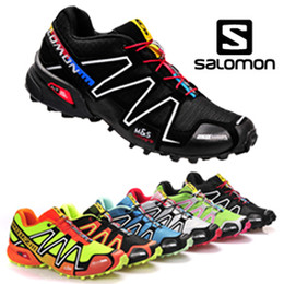 Wholesale men s Tennis shoes solomon sports track shoes running shoes mens sneakers COLORS