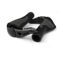 Wholesale Black Cycling Mountain MTB Bike Bicycle Lock On Handlebar Cover Handle Grip Bar End