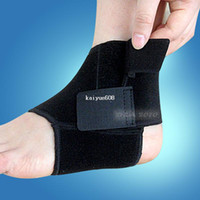 Wholesale 1PAIR High Quality Sport Basketball Football Foot Ankle Guard Pad Brace Support
