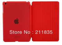 Protective Shell/Skin 7'' For Apple free shipping 9 colors cheap back case for ipad mini smart cover for ipad mini