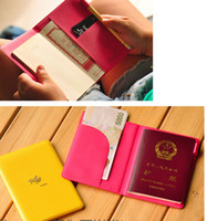 Wholesale candy airplane travel passport cover